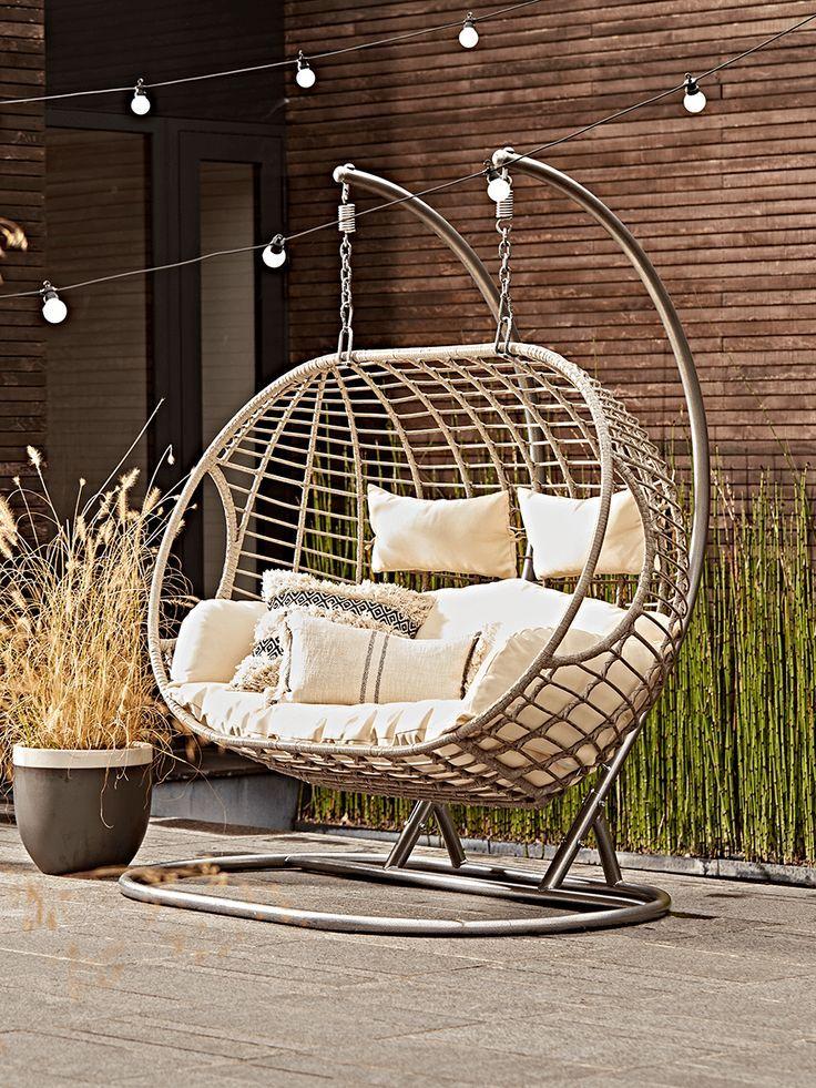 Indoor outdoor hanging chair swinging chair hanging