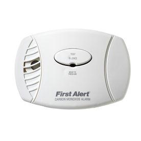 Dc Plug In Carbon Monoxide Alarm With Battery Back Up Carbon Monoxide Alarms Lowes Home Improvements