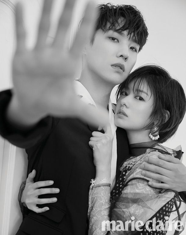 Lee Joon and Jung So Min couple up for 'Marie Claire ...