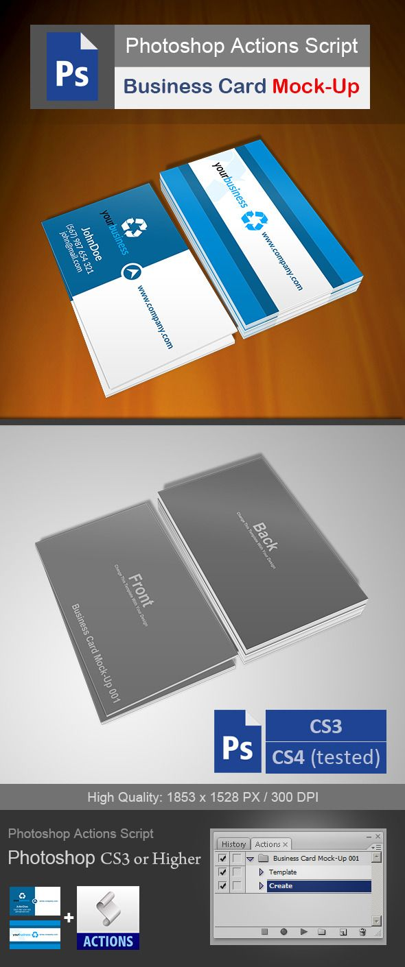 Business card mock up 001 reheart Images