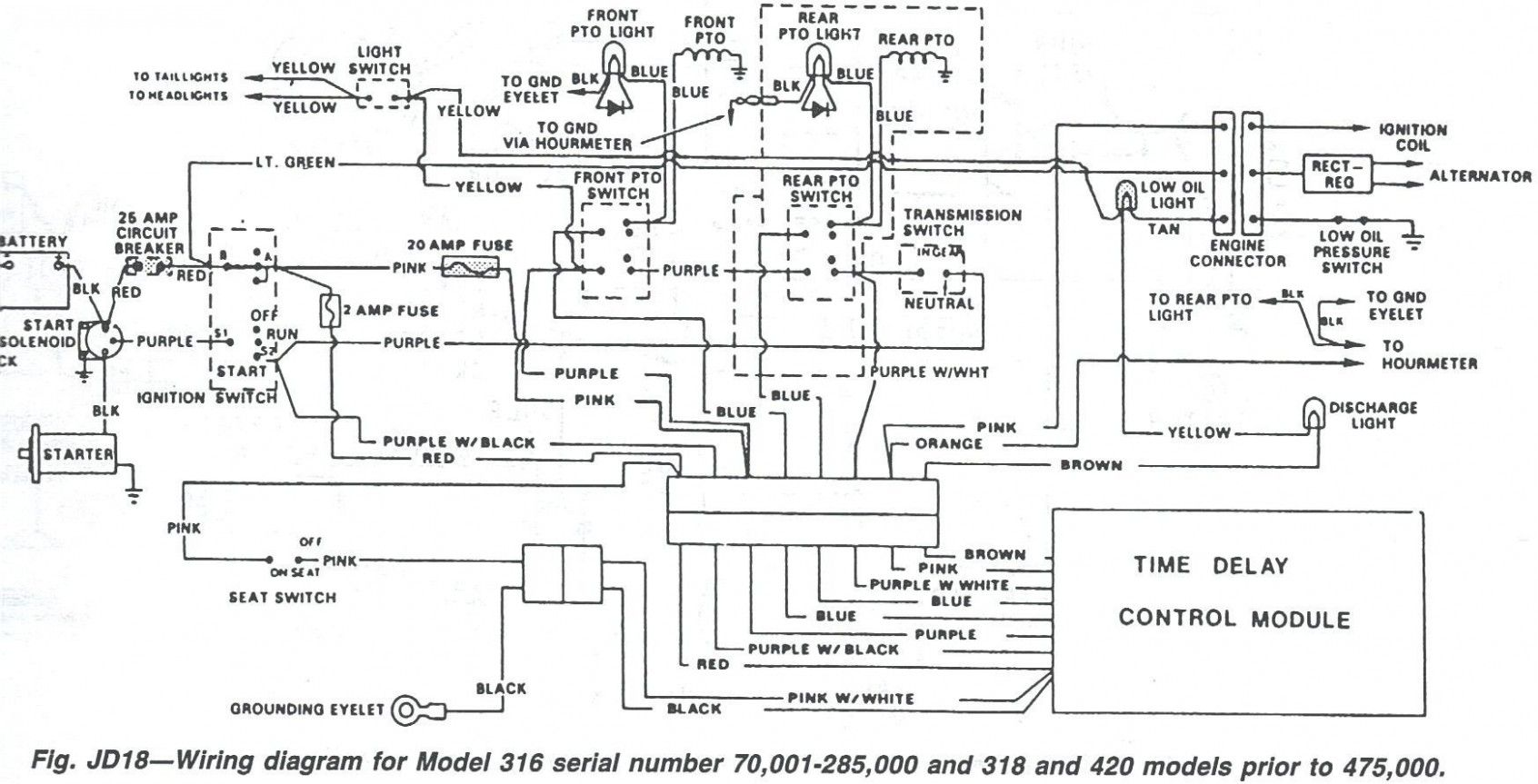 john deere 318 wiring diagram - wiring diagram explained john deere wiring diagram for h  mexico-schluessel.de