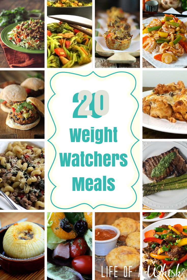 20 Delicious Weight Watchers Meals