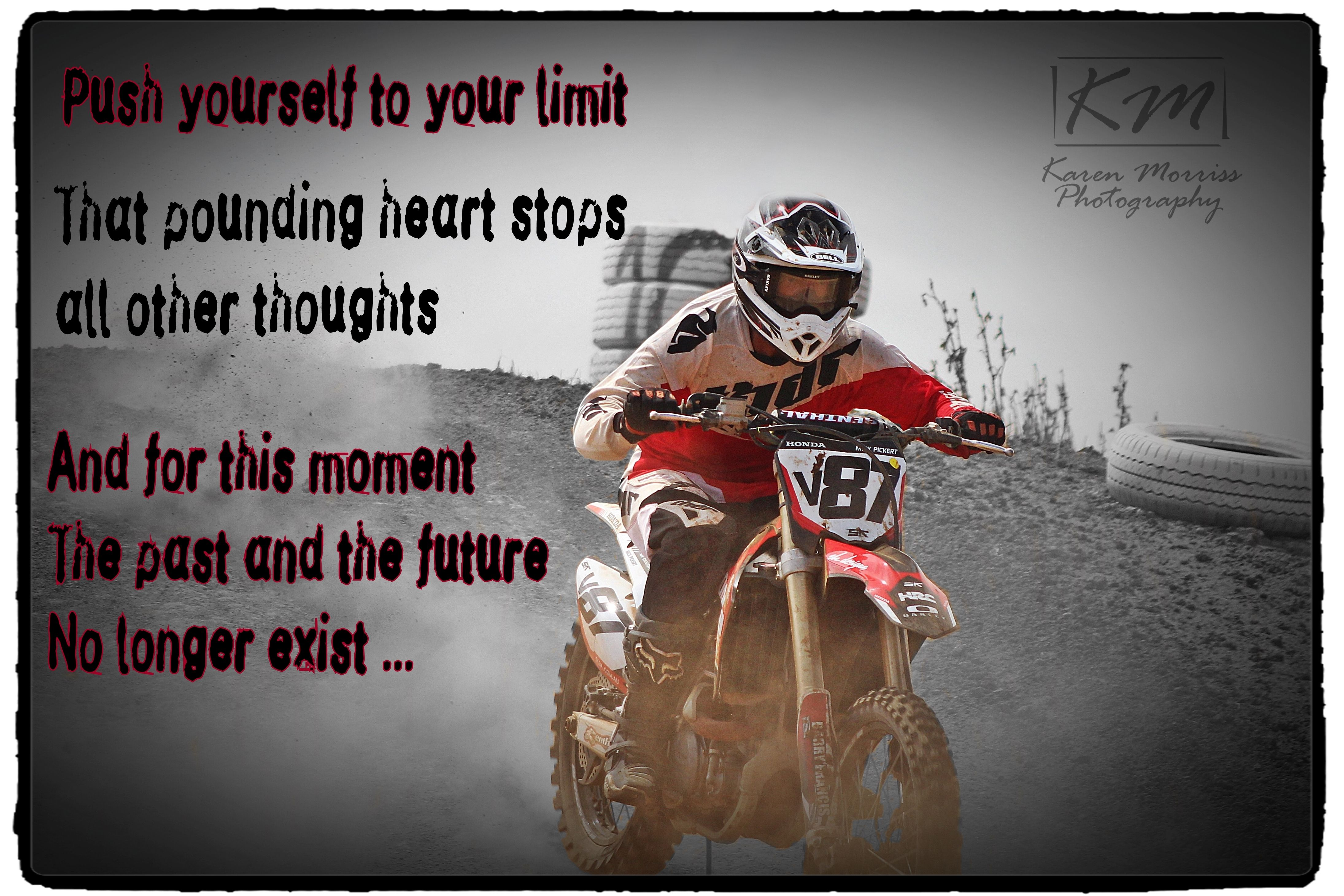 Mick Motocross Quote With Images Dirt Bike Quotes Motocross