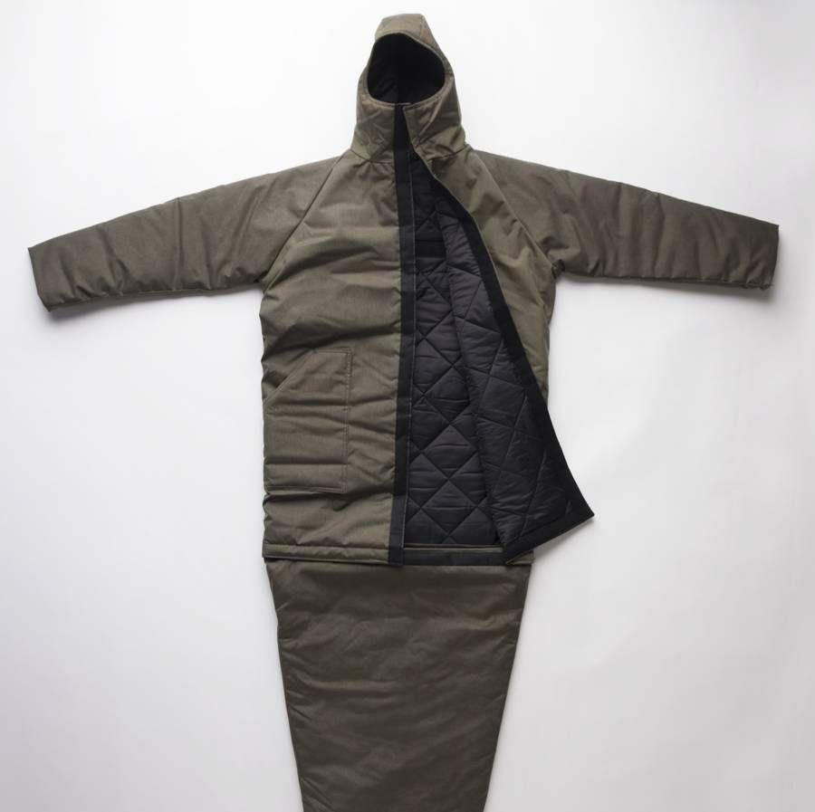 Artistic Genuis Water Resistant Jacket Coat Homeless