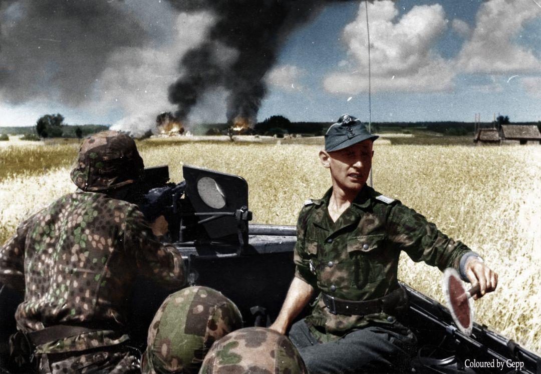 Ss untersturmf 252 hrer gerhard mahn 5th ss panzer ision wiking