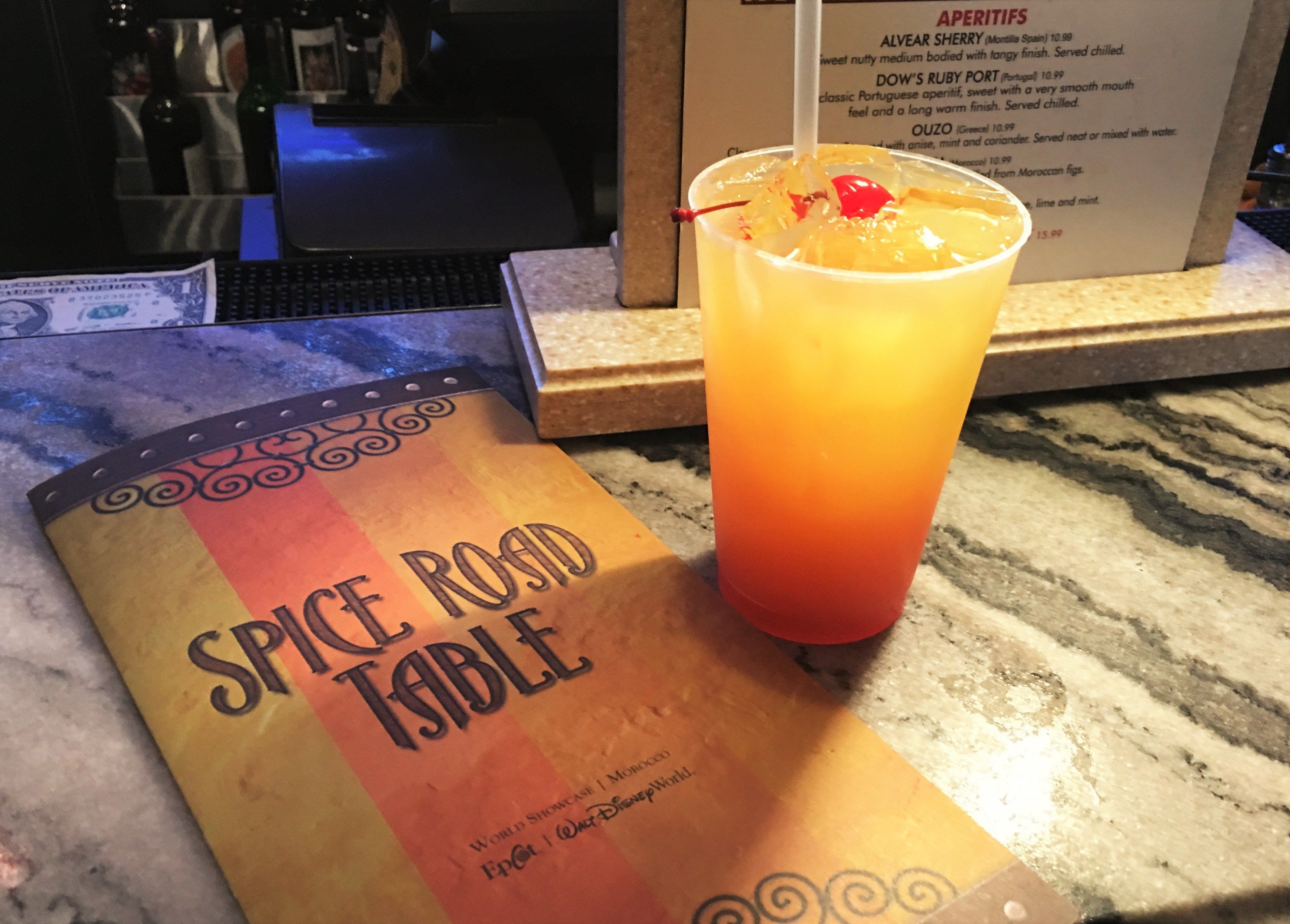 Mediterranean Journey at Epcot (Spice Road Table)
