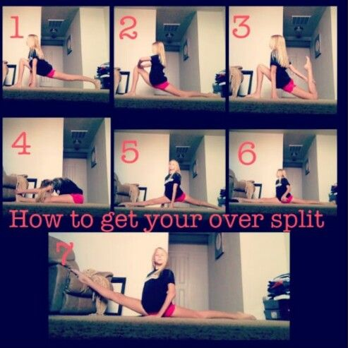 the perfect oversplits♡  fun workouts