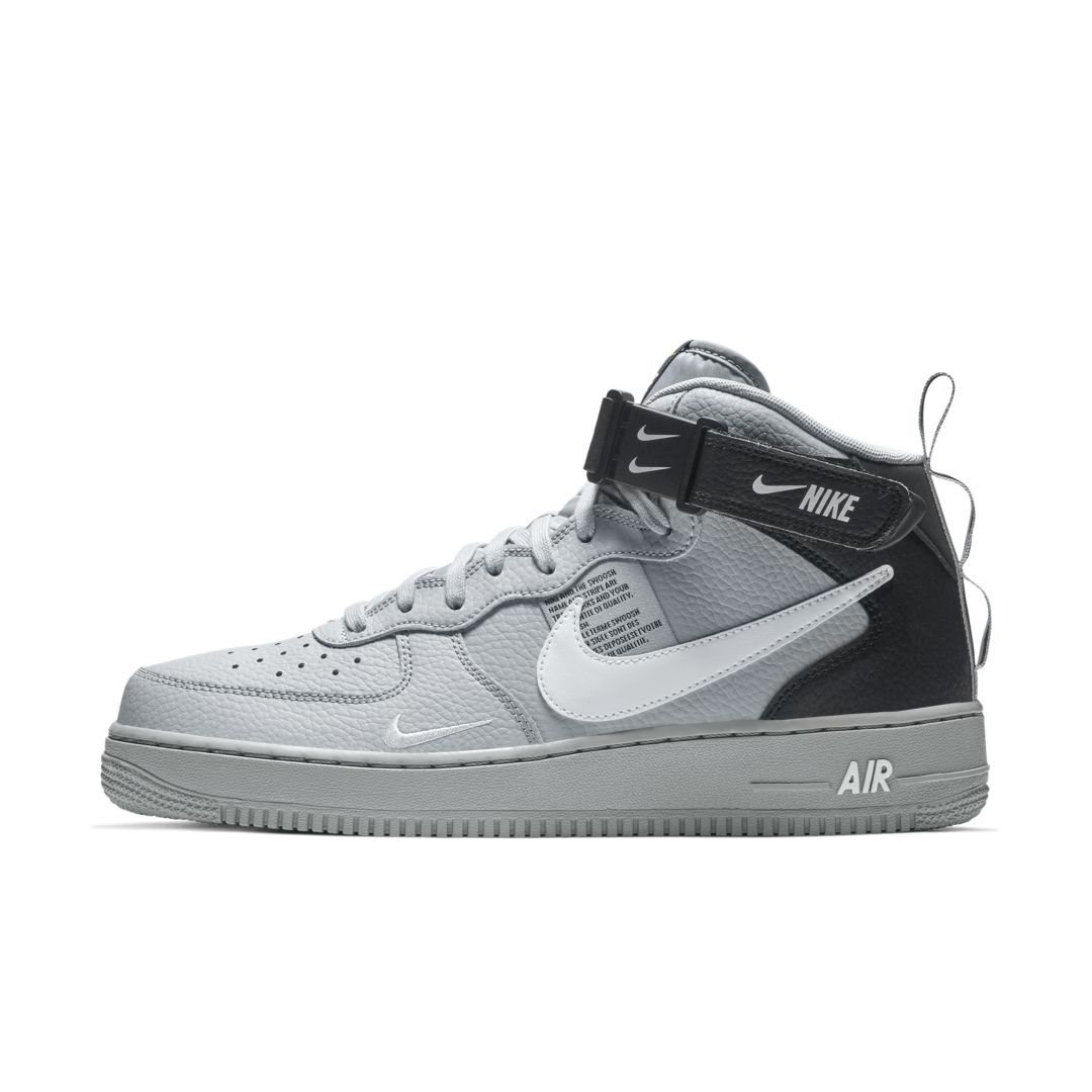 superior quality 38822 6abab Nike Air Force 1 07 Mid LV8 Men s Shoe Size 15 (Wolf Grey)