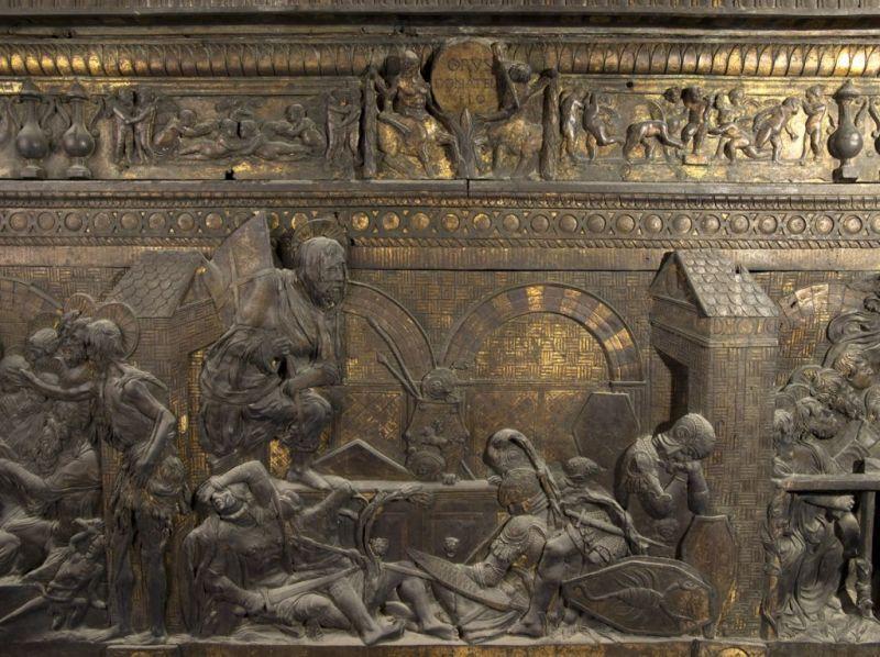 Pulpito della Resurrezione, Donatello. S.Lorenzo, Firenze