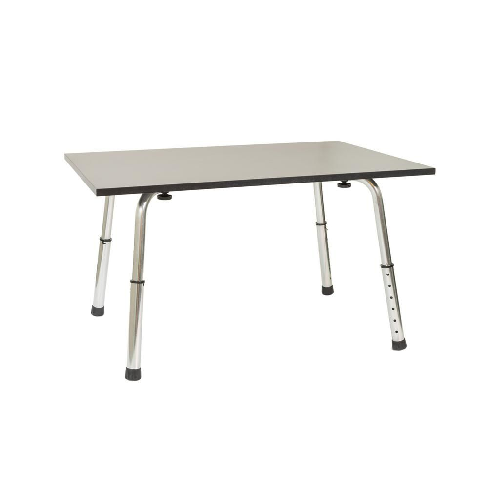X Brand Black Extra Long Portable And Versatile Height Adjustable