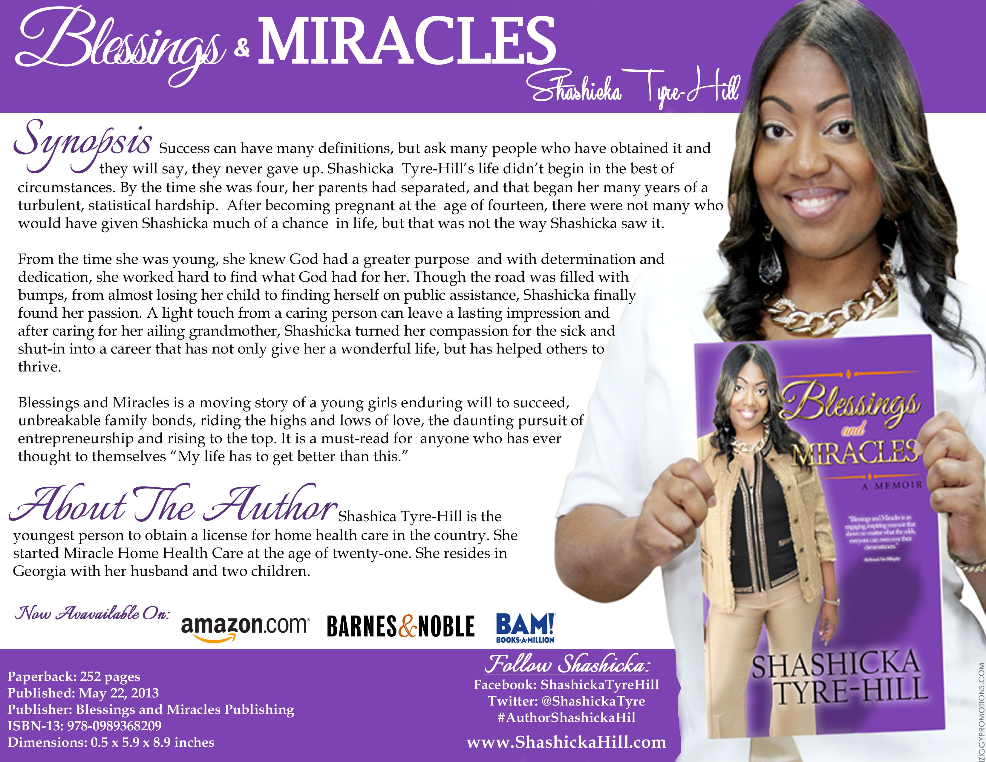 Miracles and Blessings: A Memoir