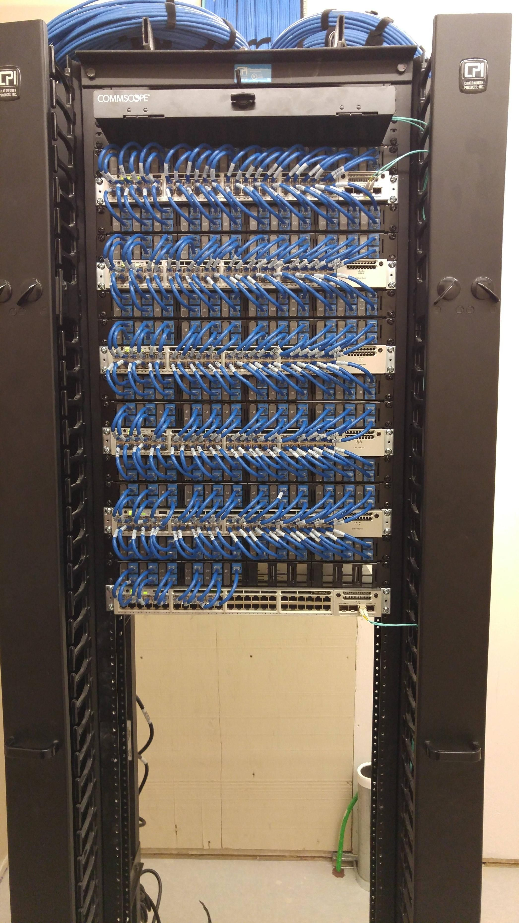 medium resolution of new idf closets network rack it network network cable server cabinet structured