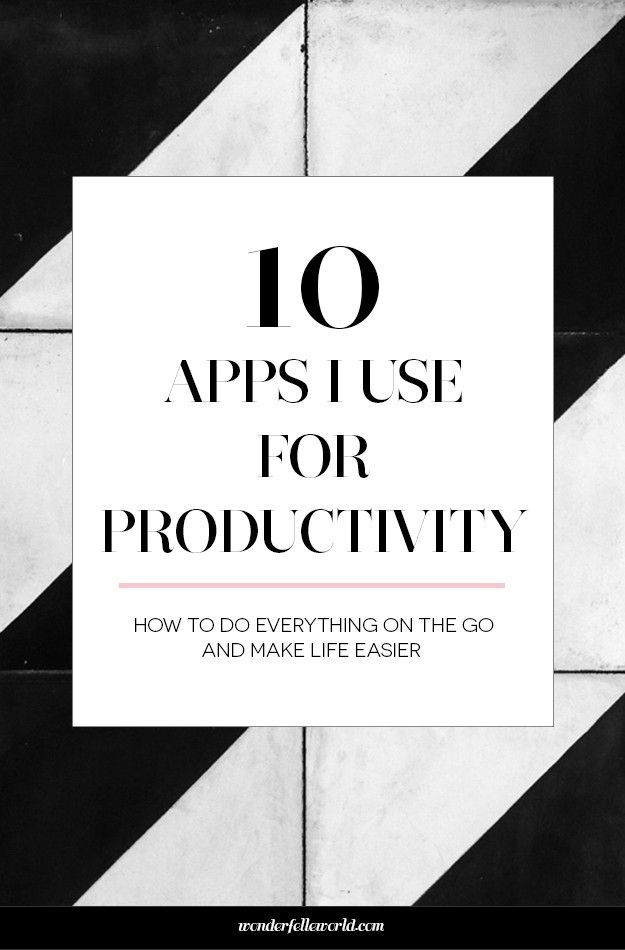 10 Apps I Use For Productivity From Email Social Media Project