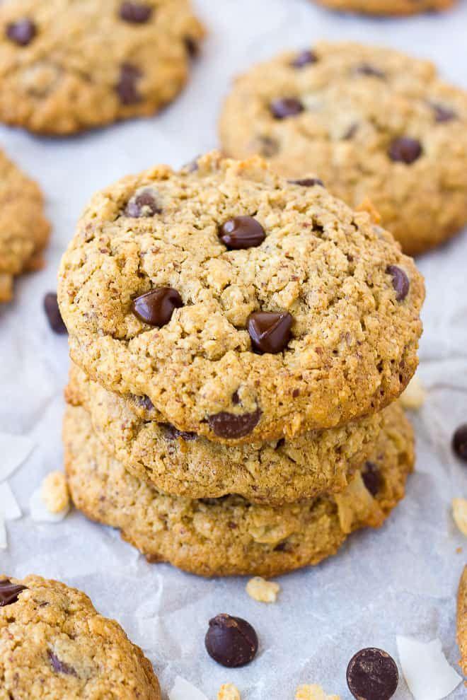 Oatmeal Almond Flour Cowboy Cookies (Gluten-Free) | Recipe ...