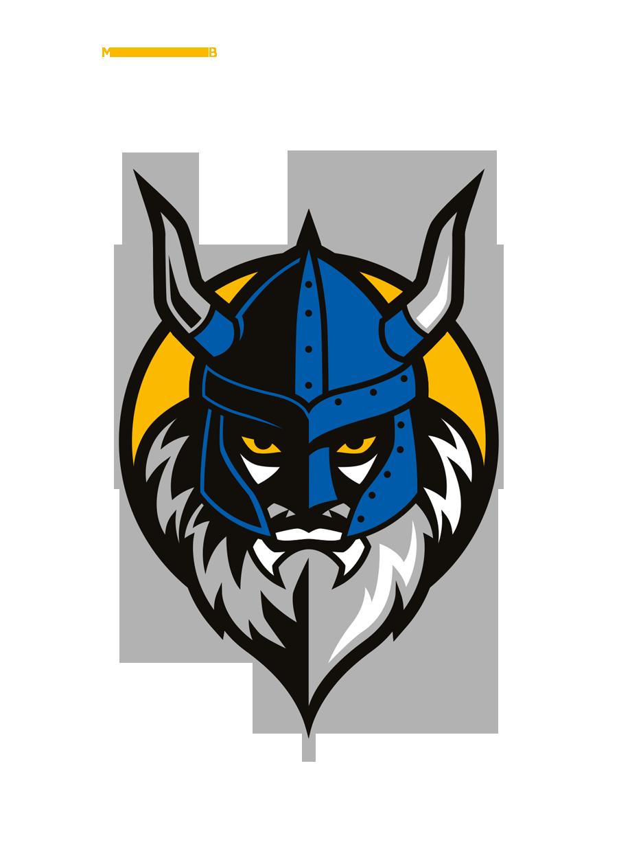 Vikings Basketball on Behance Viking logo, Logo