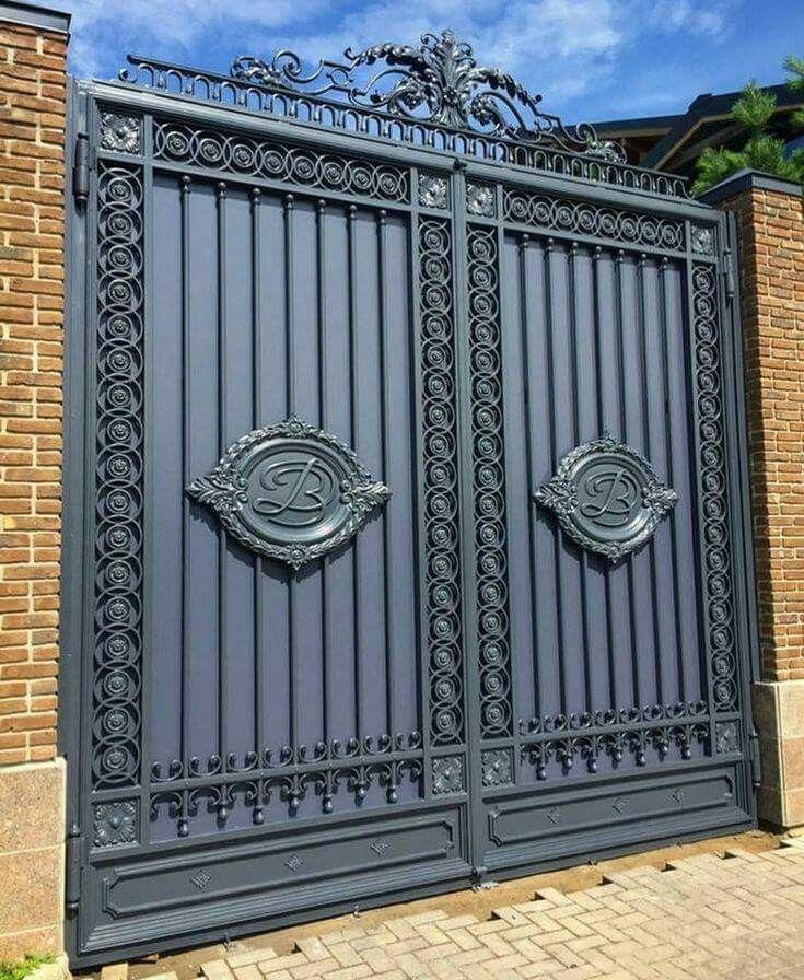 Pin by Abhishek Anand on Iron gates | Iron gate design ...