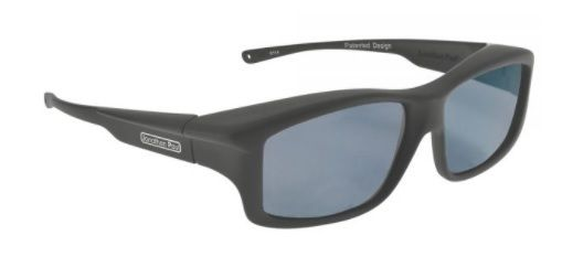f6249b4898f Jonathan Paul Fitovers Yamba - Ym001 Satin Black With Polarised Grey Lens  Sunglasses