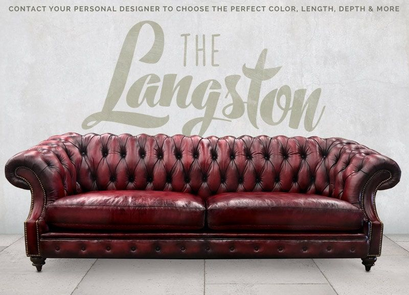 Chesterfield Collection Of Iron Oak In 2020 Classic Chesterfield Sofa Curved Chesterfield Sofa Traditional Cushions