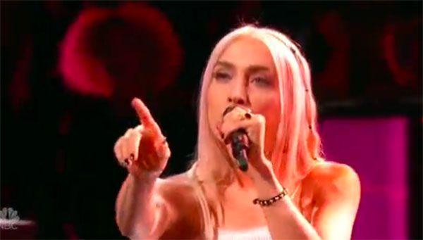 Maye Thomas sings 'Closer' on The Voice Knockouts