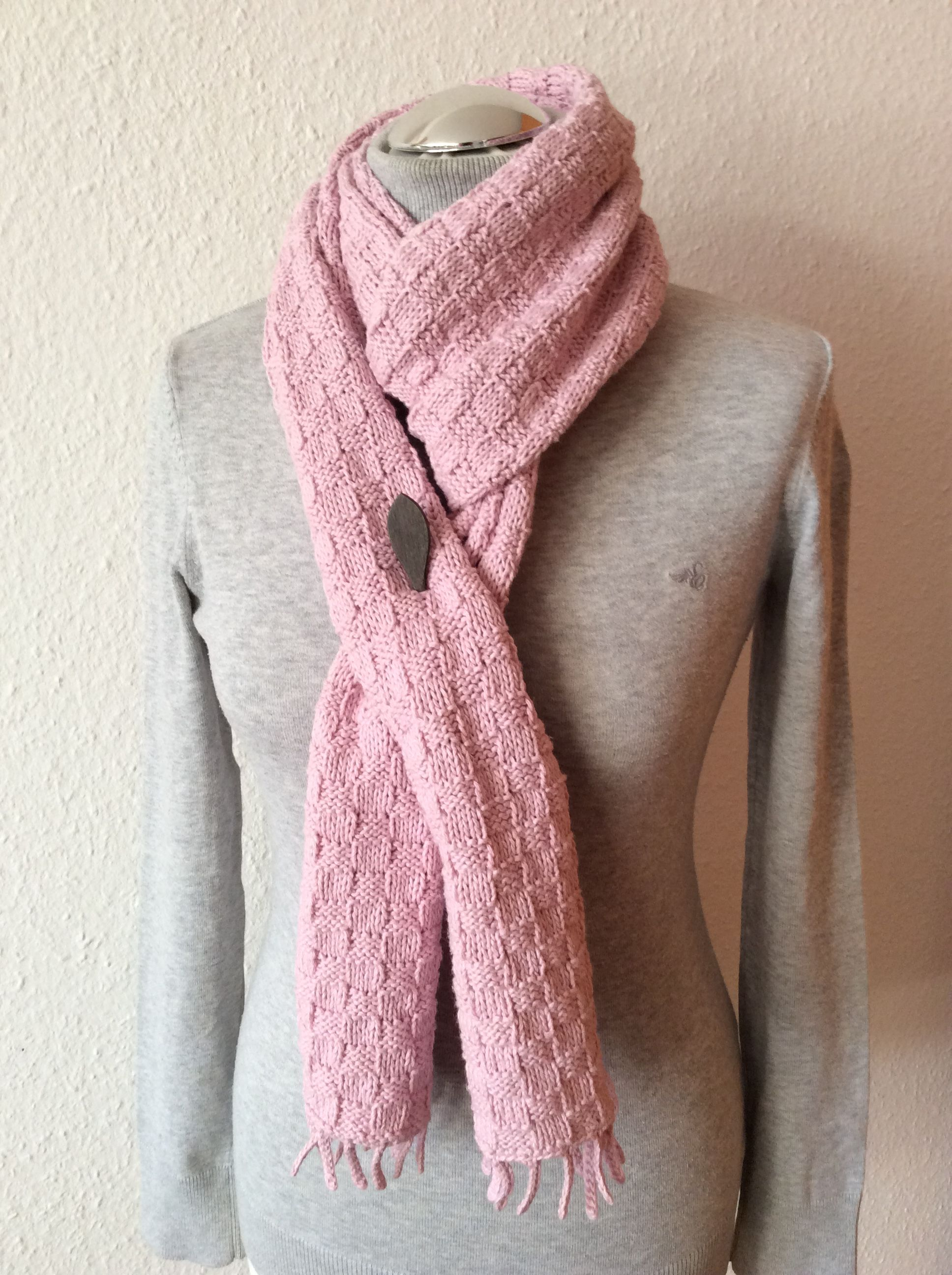 Schal handgefertigt nach eigenem Design aus 100% Leinen von ...
