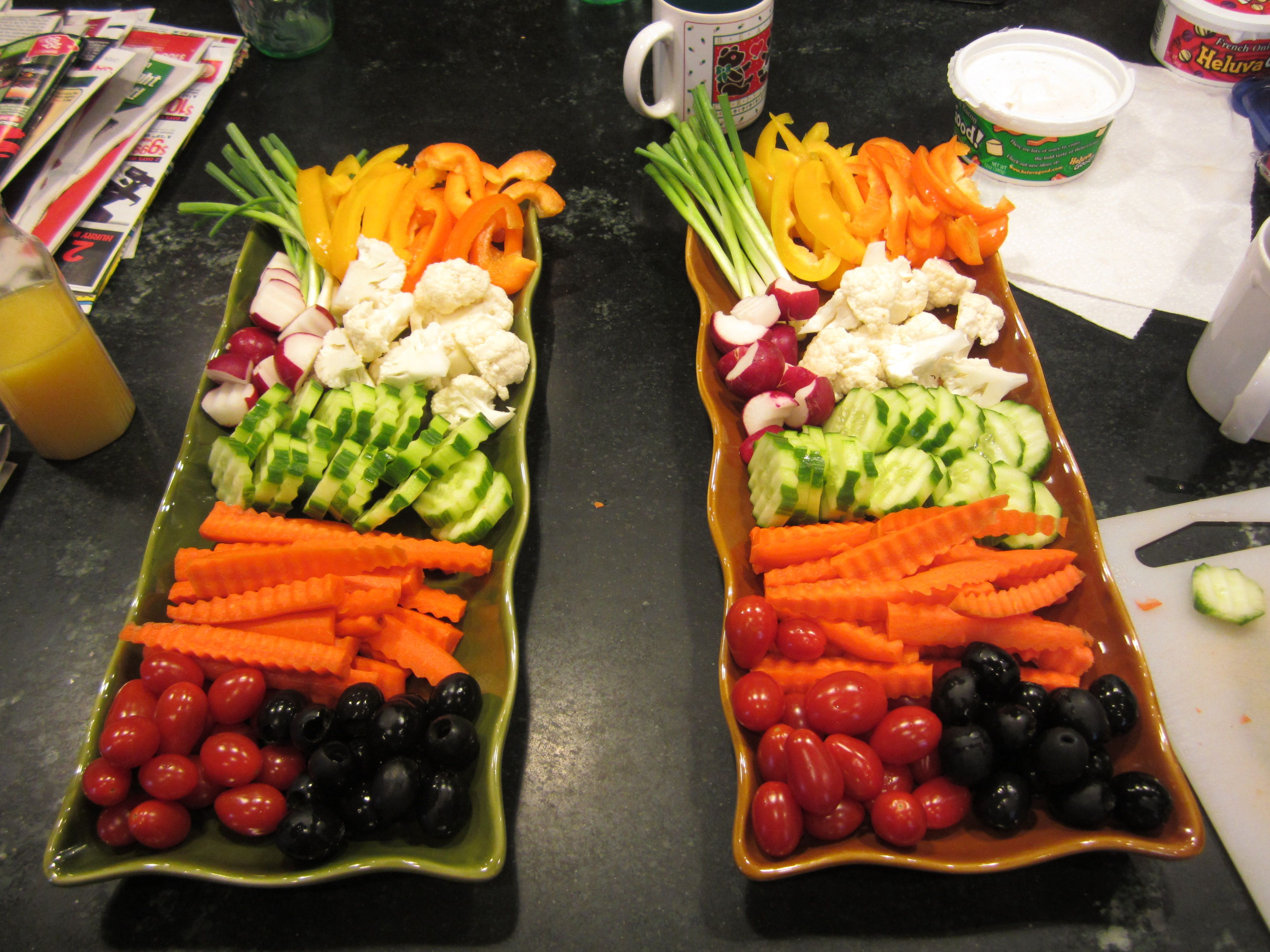 Diy Catering Tipvegetable Trays Quotassorted Crudites With