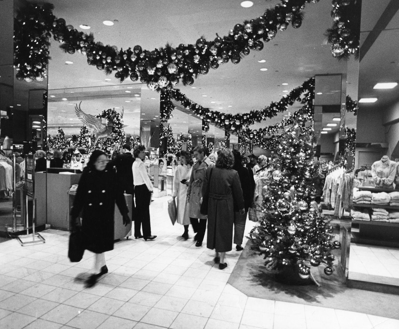 Inside Kaufmann's Department Store, Downtown, at