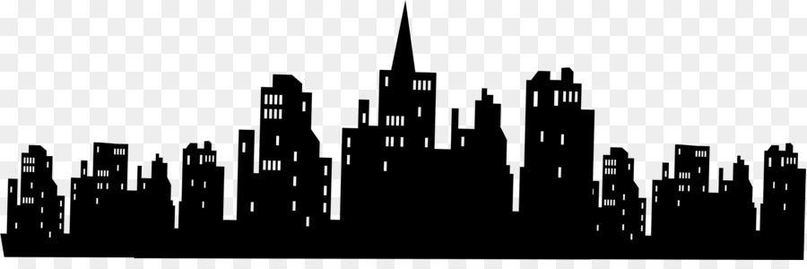 Resultado De Imagem Para Gotham City Skyline Silhouette Invitaciones De Batman Siluetas Gotham
