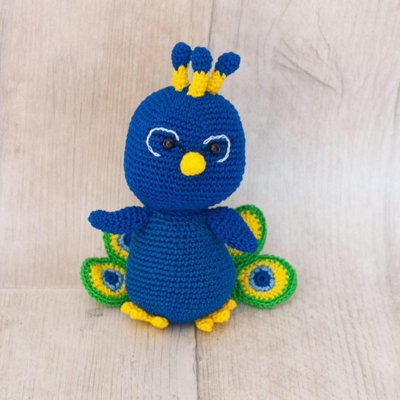 Paco the Peacock crochet pattern | Uncinetto gratis, Uncinetto ... | 794x794