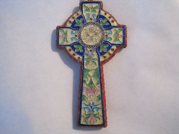 Jewelry Irish Celtic Jewelry Large Celtic Cross by CrucifixArt, $74.00