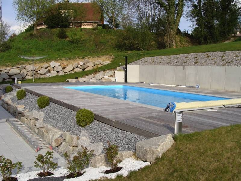 for Amenagement paysager autour piscine