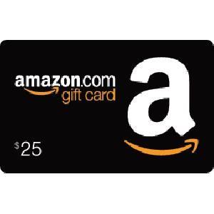 Amazon Gift Card 25 For Books On My Kindle Amazon Gift Cards Gift Card Free Amazon Products