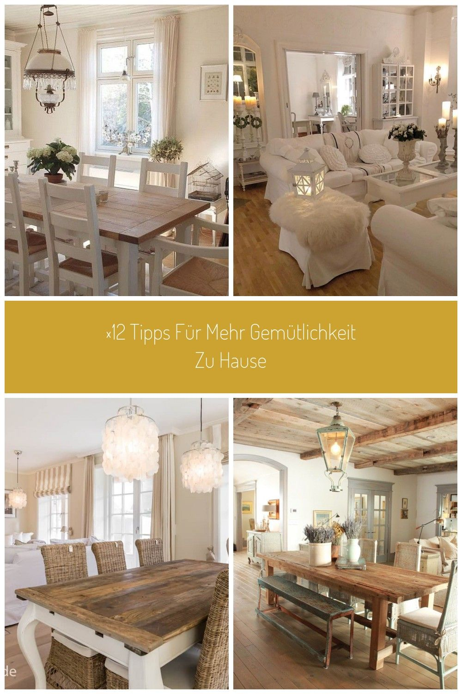 4 Gemütliches Landhaus Esszimmer Deko-Ideen - #DekoIdeen