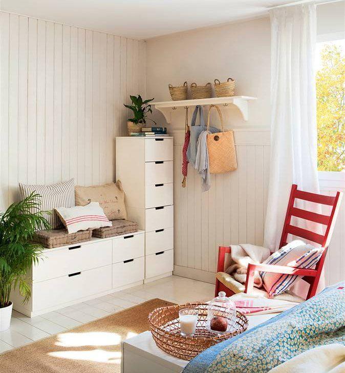 1 dormitorio 3 soluciones for the home en 2019 for Soluciones apartamentos pequenos