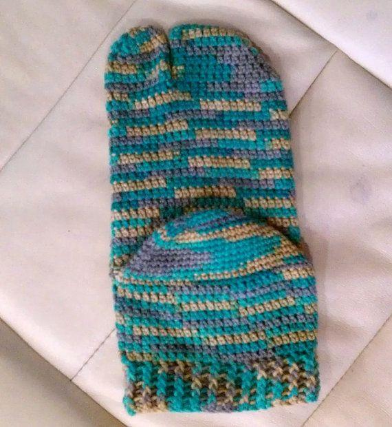 Tabi Split Toe Socks Flip Flop Socks Crochet By Playingwithfiber
