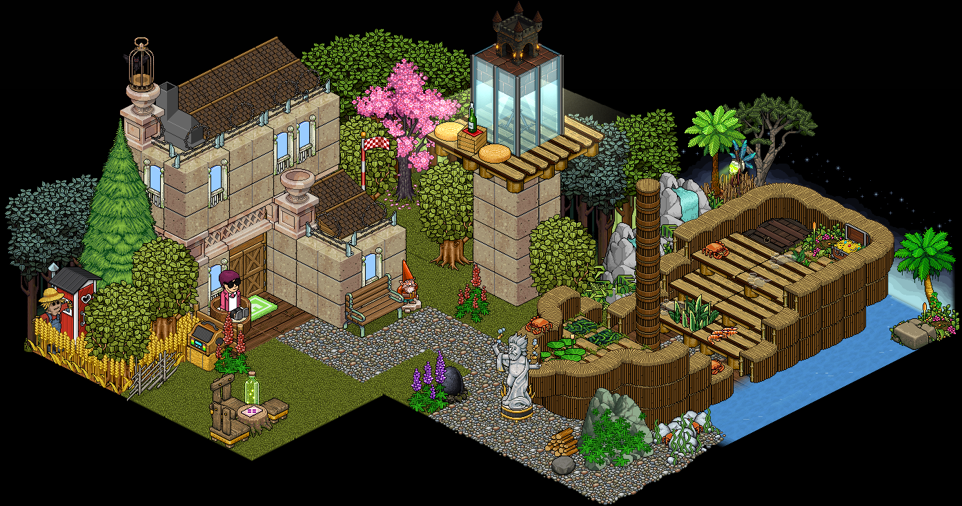 the norwegian habbo hotel room link