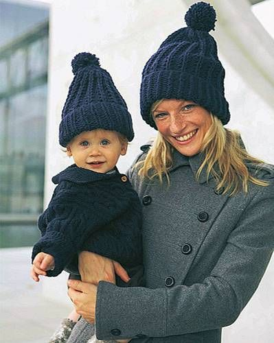 Photo of Pudelmütze stricken: Kopfarbeit für die Familie
