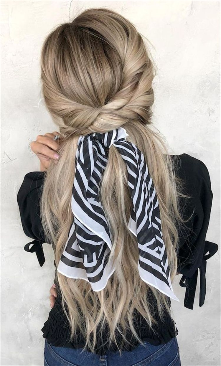 45 Attractive And Time Saver Hairstyle Ideas For You To Try Right Now - Page 18 of 45