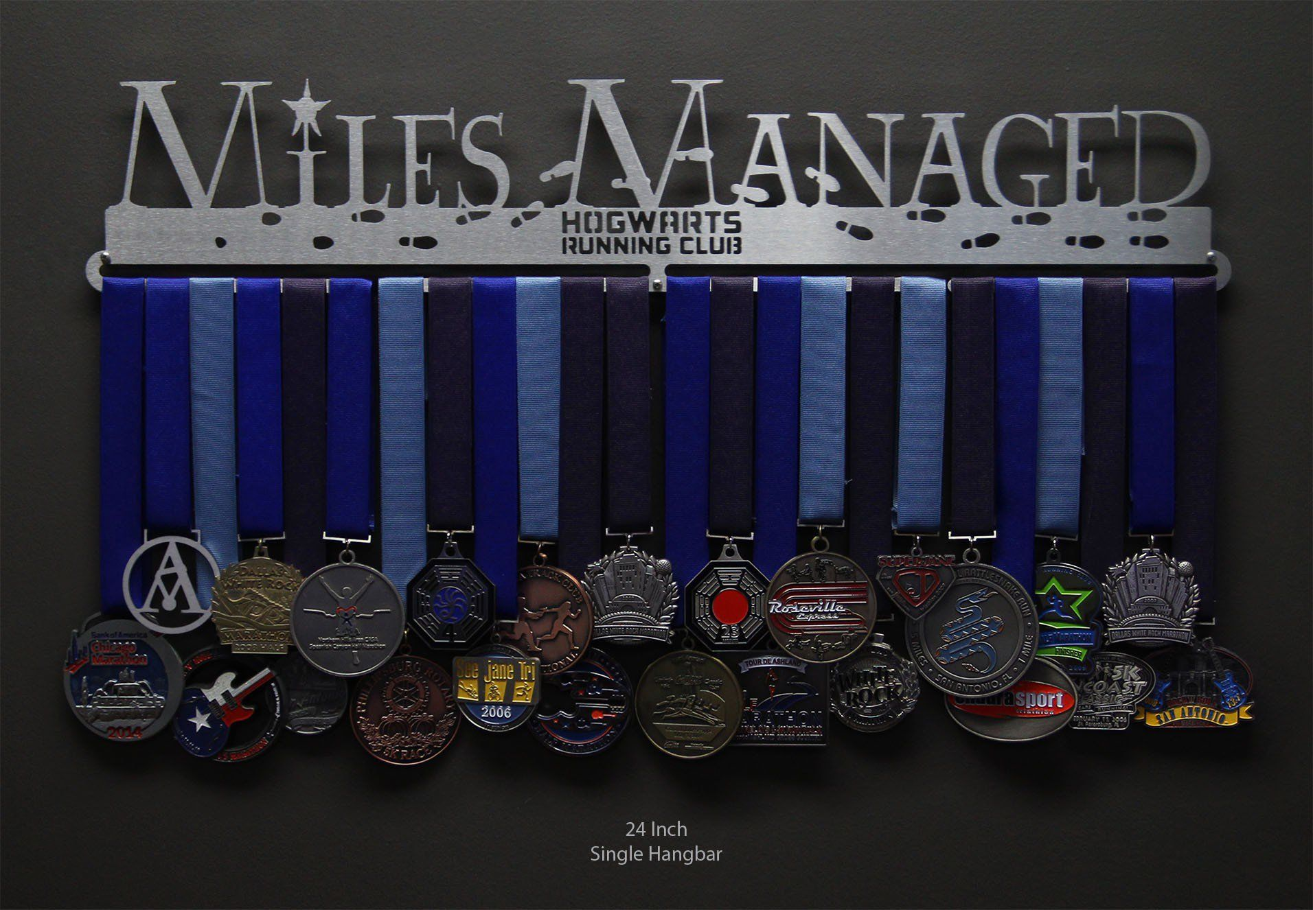 I Want This Miles Managed Medal Hanger Hogwarts Running
