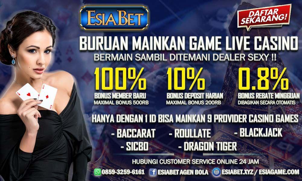 Bermain Situs Casino Online Dengan Provider Terlengkap Di