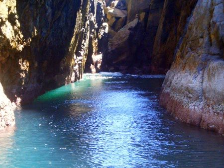 Gruta Azul-Arraial do cabo- the most beautiful place to dive!