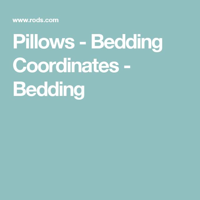 Pillows - Bedding Coordinates - Bedding
