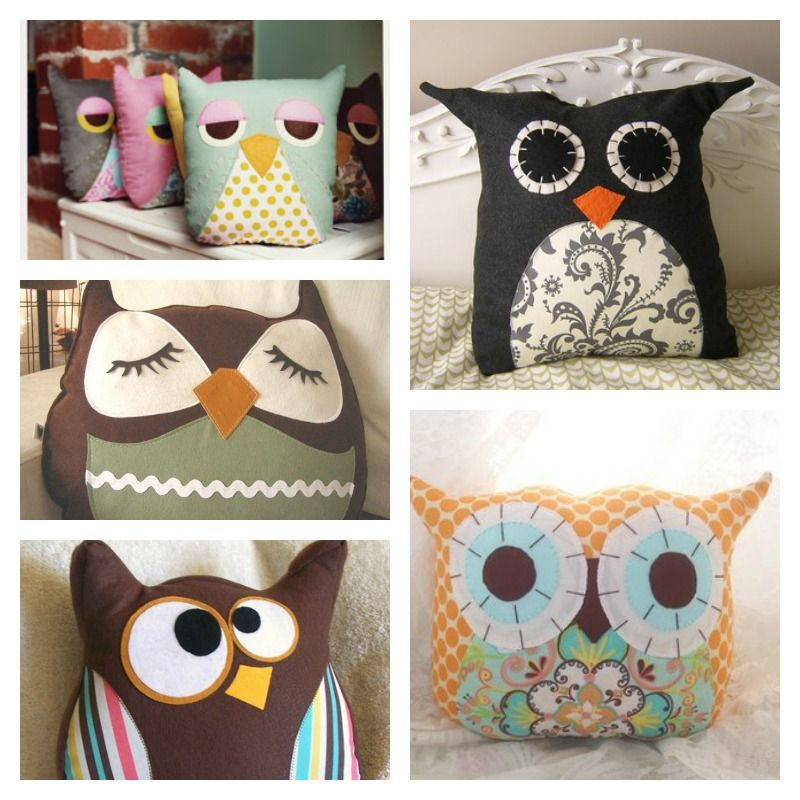 How to Make Cute Owl Pillow | Eule, Basteln und Nähen