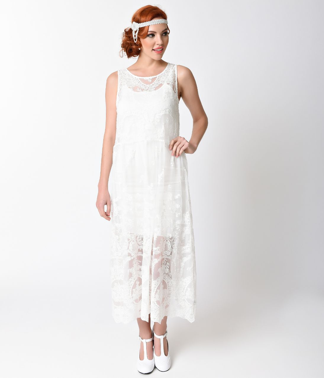 1920s Day Dresses, Tea Dresses, Mature Dresses with Sleeves | 1920s ...