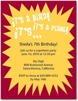 it's a super party superhero birthday invitations #partyinvite #superheroparty #partyhq