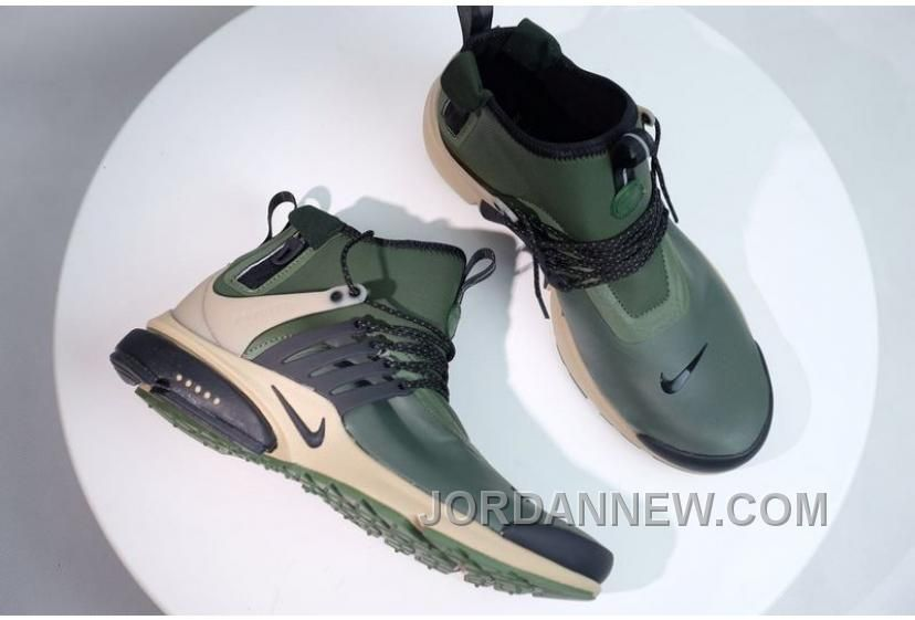56e68a1ecae3 NIKE AIR PRESTO MID UTILITY Men Military Green Super Deals