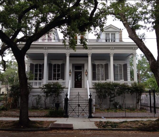 House in the Garden District of New Orleans.