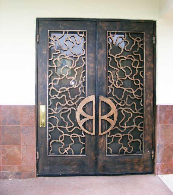 Custom Iron Door Company Ornamental Iron Door Designs Front Doors