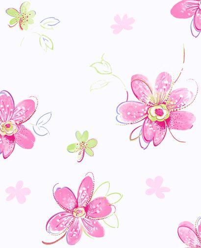 Candice olson bohemian floral wallpaper hgtv designers - Floral wallpaper home depot ...