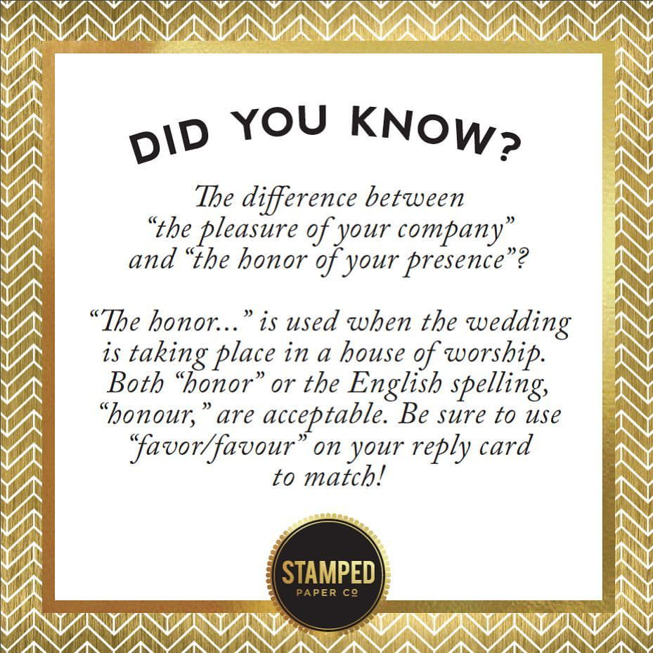 Wedding Invitation Wording Etiquette Reminder From Stamped Paper Co