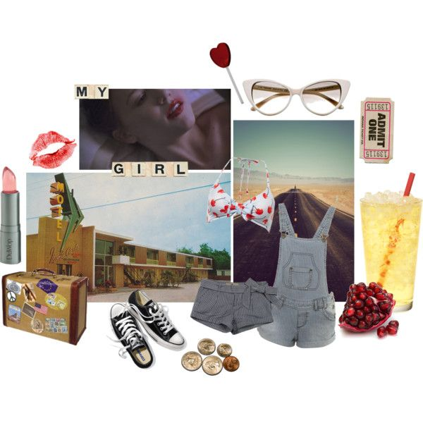 On the road again on Polyvore